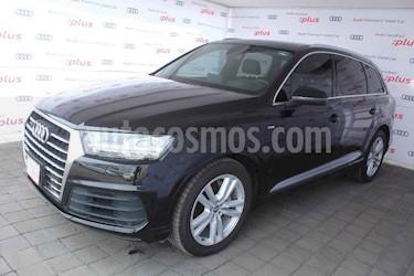 Audi Q7 5p 3.0TFSI 333 hp S line usado (2016) color Negro precio $690,000