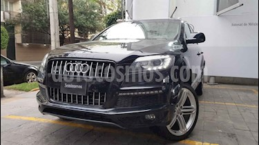 Foto Audi Q7 3.0T S Line Tiptronic Quattro (340Hp) usado (2013) color Negro precio $395,000