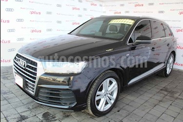 Audi Q7 5p 3.0TFSI 333 hp S line usado (2016) color Negro precio $730,000