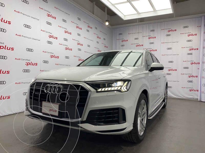 Foto Audi Q7 55 TFSI Elite usado (2021) color Blanco precio $1,568,000