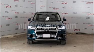 Audi Q7 3.0L TFSI Elite (333Hp) usado (2018) color Azul precio $910,000