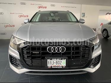 Audi Q8 55 TFSI Elite usado (2019) color Plata Metalico precio $1,298,000