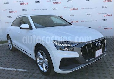 Audi Q8 5p 55 TFSI S line usado (2019) color Blanco precio $1,413,901