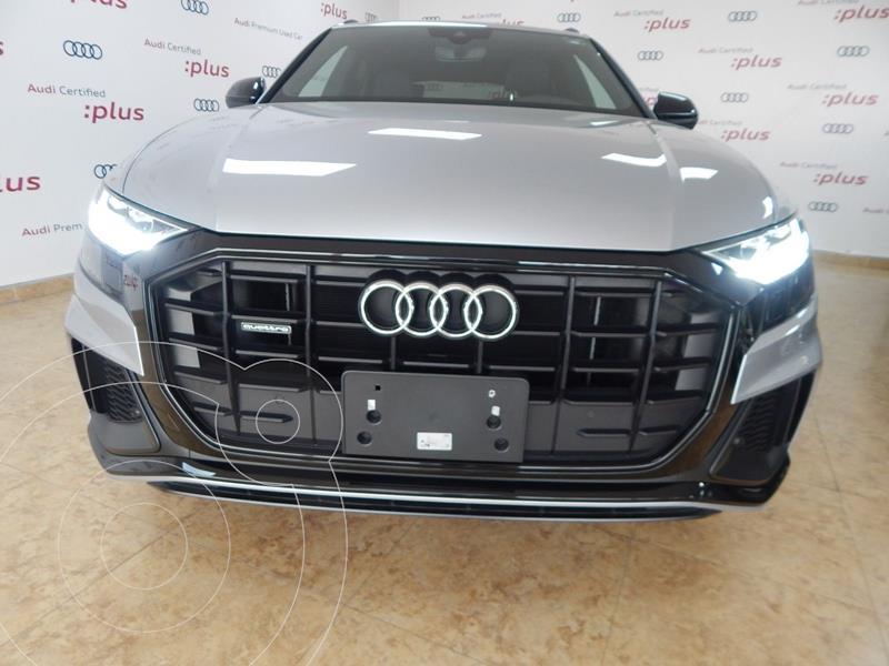 Audi Q8 55 TFSI S Line usado (2020) color Plata Dorado precio $1,390,000