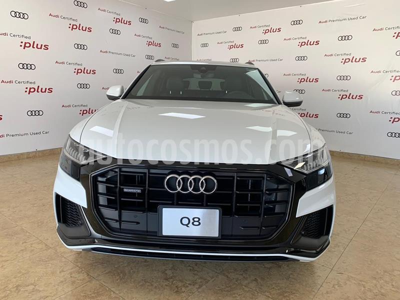 Audi Q8 55 TFSI S Line usado (2020) color Blanco precio $1,457,006