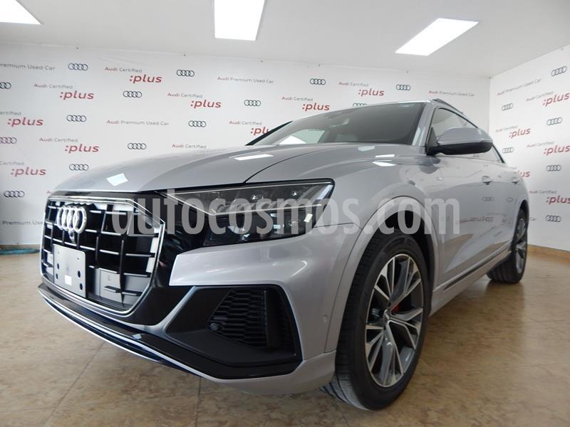 Audi Q8 55 TFSI S Line usado (2020) color Plata Dorado precio $1,468,656