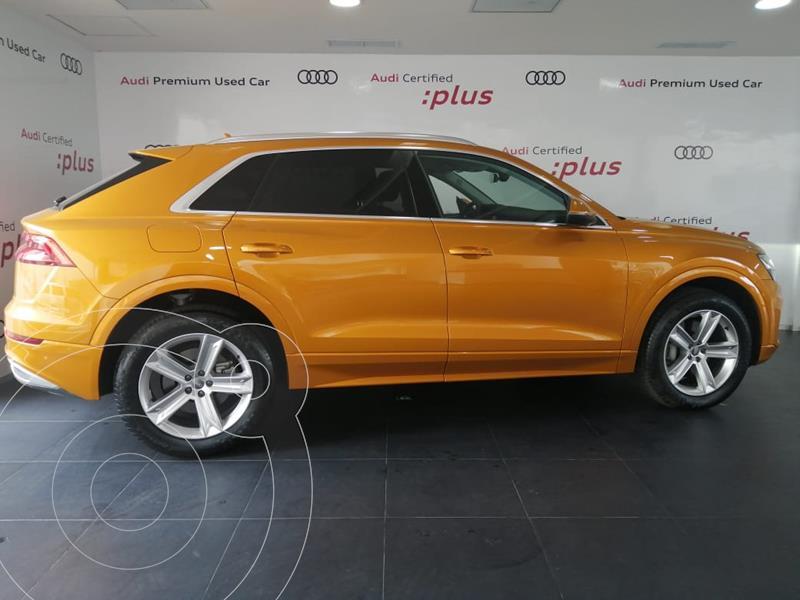 Foto Audi Q8 55 TFSI Elite usado (2020) color Naranja Metalico precio $1,292,109