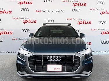 Audi Q8 5p 55 TFSI S line usado (2019) color Azul precio $1,465,000