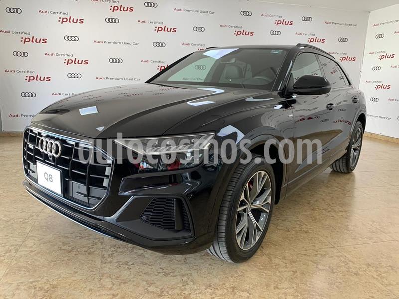 Audi Q8 55 TFSI S Line usado (2020) color Negro precio $1,468,656