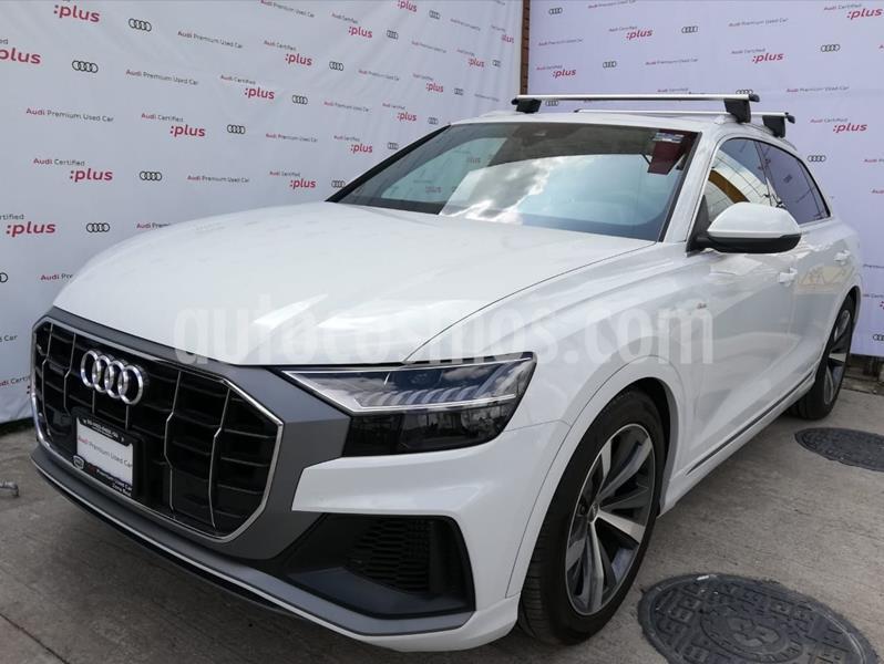 Audi Q8 55 TFSI S Line usado (2020) color Blanco precio $1,420,000