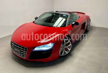 Audi R8 2p Spider V10 5.2L R-Tronic Quattro usado (2011) color Rojo precio $1,450,000