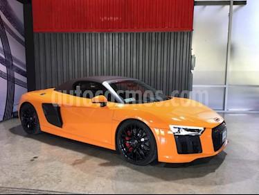 Audi R8 Spyder 5.2 FSI 540 hp usado (2017) color Naranja precio $2,350,000
