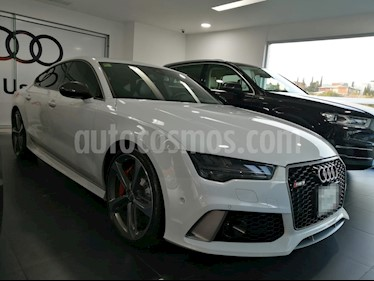 Audi Serie RS 7 Performance 4.0 TFSI Tiptronic usado (2017) color Blanco Glaciar precio $1,650,000