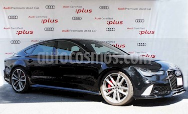 Audi Serie RS 7 Performance 4.0 TFSI Tiptronic usado (2018) color Negro precio $1,759,000