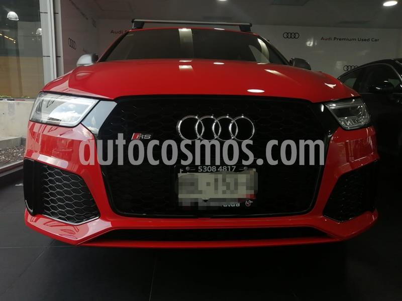 Audi Serie RS Q3 Performance 2.5L usado (2018) color Rojo precio $800,000