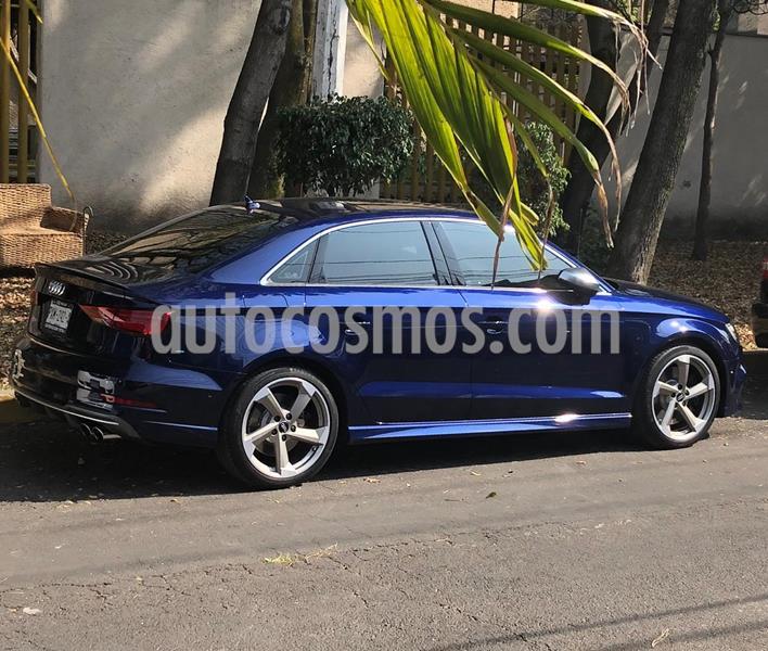 Audi Serie S S3 2.0L TFSI Sedan Aut usado (2018) color Azul precio $595,000