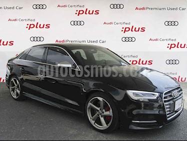 Audi Serie S S3 2.0L TFSI Sedan Aut usado (2018) color Negro precio $610,000