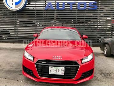 Audi TT Coupe 2.0T FSI 230 hp Sport High usado (2016) color Rojo precio $499,000