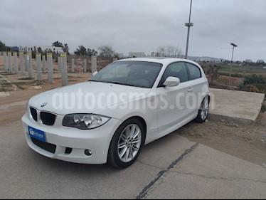 BMW Serie 1 114i 3P usado (2011) color Blanco precio $8.390.000