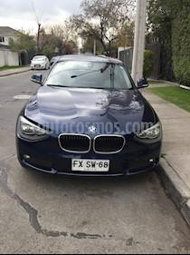 BMW Serie 1 114i 3P usado (2014) color Azul Metalizado precio $8.500.000