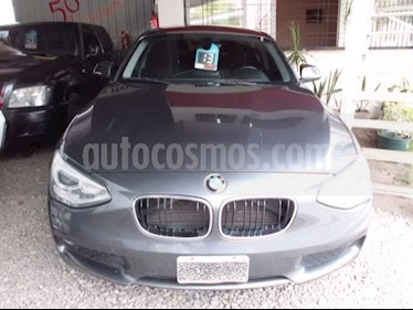 BMW Serie 1 116i 5P usado (2013) color Gris Oscuro precio $990.000