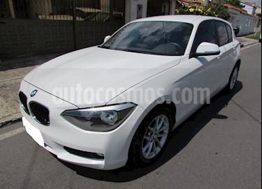 foto BMW Serie 1 116i 5P usado (2013) color Blanco precio $35.000.000