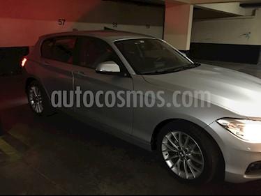 BMW Serie 1 118i Aut 5P M Sport  usado (2017) color Plata precio $14.000.000