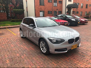 BMW Serie 1 118i Sport 5P usado (2012) color Gris Space precio $48.500.000