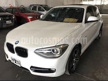 BMW Serie 1 118i Sport Line 5P usado (2013) color Blanco precio u$s22.500