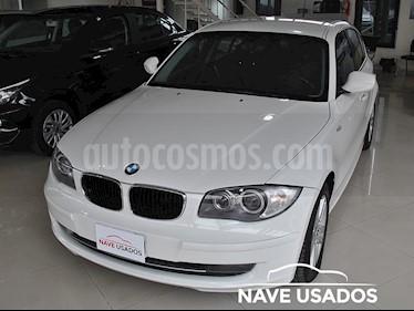 BMW Serie 1 120i 5P usado (2011) color Blanco precio $550.000