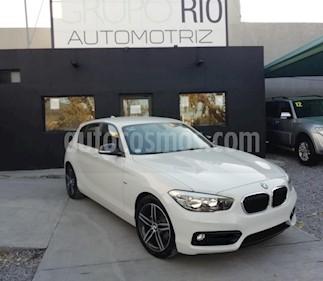 Foto venta Auto usado BMW Serie 1 3P 118i Sport Line (2018) color Blanco precio $379,000