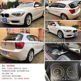 BMW Serie 1 3P 118iA  usado (2015) color Blanco precio $220,000