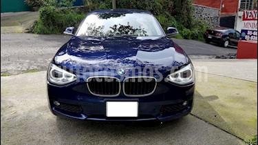 BMW Serie 1 3P 118iA usado (2014) color Azul Profundo precio $215,000