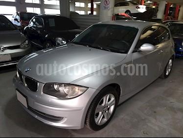 Foto venta Auto usado BMW Serie 1 3P 120i Dynamic (2008) color Gris Titanio precio $116,900