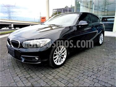 Foto venta Auto usado BMW Serie 1 3P 120i (2017) color Negro Zafiro precio $298,300