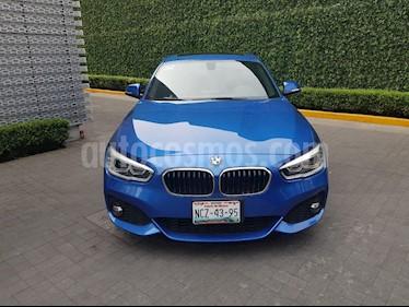 Foto venta Auto Seminuevo BMW Serie 1 3P 120iA M Sport (2018) color Azul precio $463,000