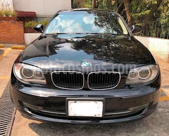 BMW Serie 1 3P 120iA Style usado (2011) color Negro precio $197,000