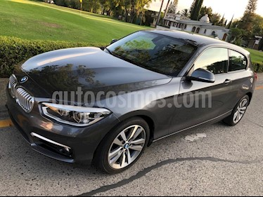 BMW Serie 1 3P 120iA Urban Line usado (2016) color Gris Mineral precio $270,000
