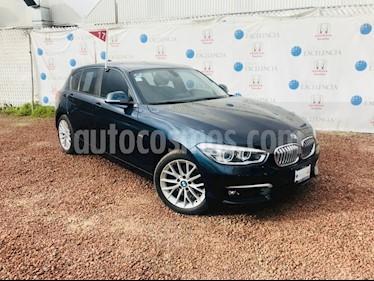 Foto venta Auto Seminuevo BMW Serie 1 3P 120iA (2017) color Azul Profundo precio $380,000