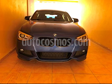 foto BMW Serie 1 5P 118i M Sport usado (2013) color Azul precio $320,000