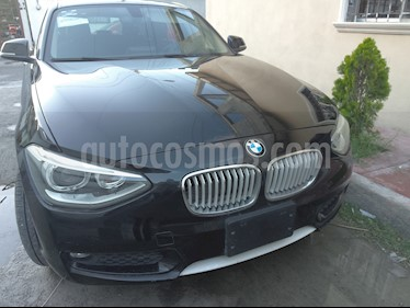 Foto venta Auto usado BMW Serie 1 5P 118i Urban Line (2015) color Negro Zafiro precio $260,000
