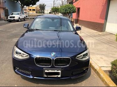 BMW Serie 1 5P 118i  usado (2013) color Azul Medianoche precio $190,000