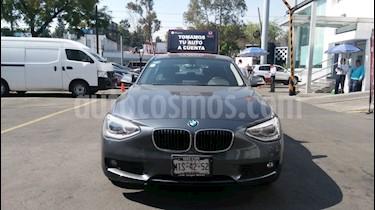 Foto venta Auto Seminuevo BMW Serie 1 5P 118iA (2015) color Gris Mineral precio $268,000