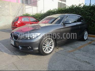Foto venta Auto usado BMW Serie 1 5p 120i L4/1.6/T Aut (2016) color Gris precio $280,000