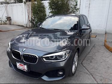 Foto BMW Serie 1 5P 120i M Sport usado (2017) color Gris precio $389,000