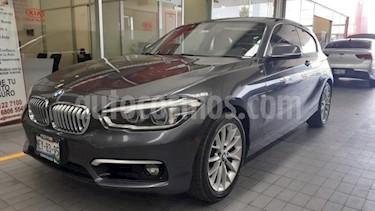 BMW Serie 1 5p 120i Sport Line L4/1.6/T Aut usado (2017) color Azul Marino precio $339,000