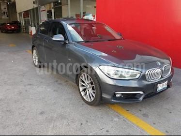 Foto venta Auto usado BMW Serie 1 5p 120i Sport Line L4/1.6/T Aut (2017) color Azul Marino precio $349,000
