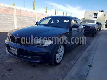 BMW Serie 1 5P 120i Style usado (2008) color Azul precio $135,000