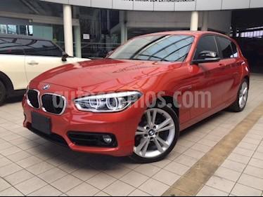 Foto venta Auto usado BMW Serie 1 5P 120iA Sport Line (2017) color Naranja precio $375,000