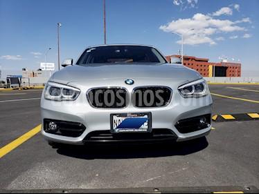 BMW Serie 1 5P 120iA Sport Line usado (2016) color Plata precio $320,000